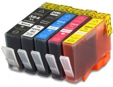 HP-364XL-set (5 kleuren)