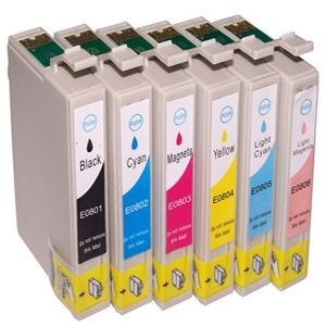 Epson T0801-T0806 (complete set, 6 cartridges)