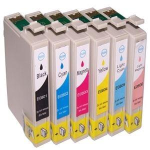 Epson T0801-T0806 (complete set, 6 cartridges)