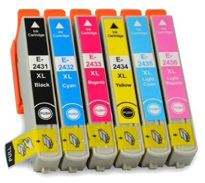 Epson T2431-T2436 set (6 cartridges)