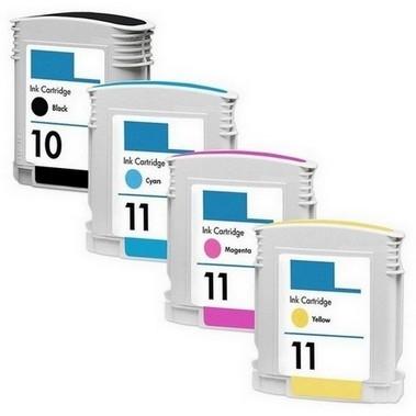 HP-10XL/11XL-set (4 cartridges)