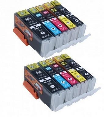 Canon 550-551 voordeelpakket (10 cartridges)