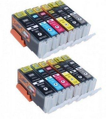Canon 550-551 voordeelpakket (12 cartridges)