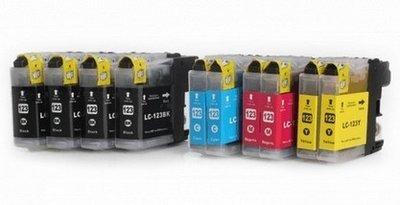 Brother LC-123 voordeelpakket (10 cartridges)