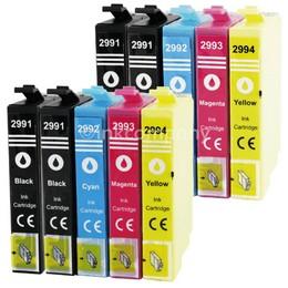 Epson T2991-T2994 voordeelpakket (10 cartridges)