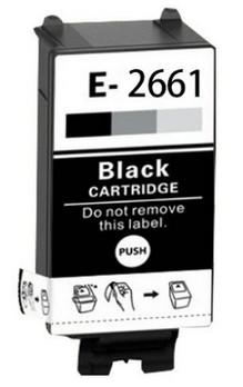 Epson T2661 BK compatible cartridge