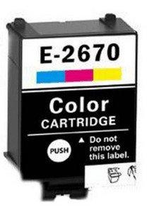 Epson T2670 CMY compatible cartridge
