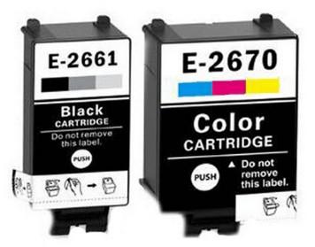 Epson T2661 & T2670 set compatible cartridges