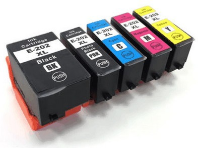Epson 202XL-serie compatible (5 cartridges)
