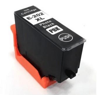 Epson 202XL PBK compatible (fotozwart)