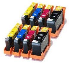 Lexmark 100XL huismerk - VOORDEELPAKKET - 2 complete set (8 cartridges)