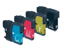 Brother LC-985 complete set (4 cartridges)