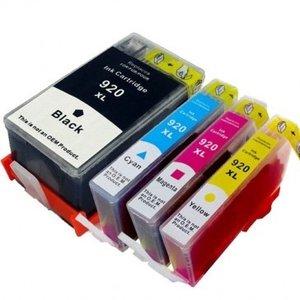 HP-920XL set (4 cartridges)