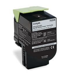 Lexmark 702HK (70C2HK0) - zwart