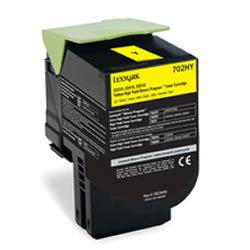 Lexmark 702HY (70C2HY0) - geel