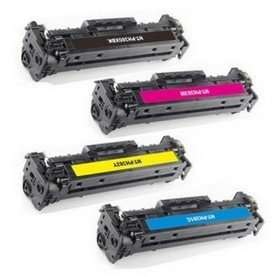 HP-CF380-set (4 tonercartridges)