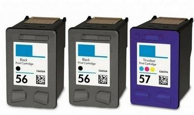 HP combopack: 2x HP-56 + 1x HP-57