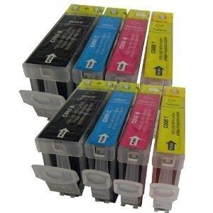 Canon 5BK-8C/8M/8Y voordeelpakket (2 complete sets - 8 cartridges)