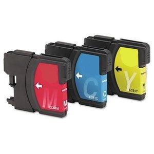 Brother LC-985 kleurentrio (3 cartridges: cyaan, magenta, geel)
