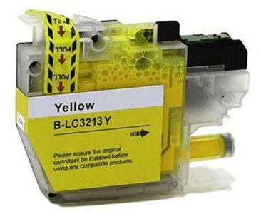 Brother LC-3213Y (geel) compatibele cartridge
