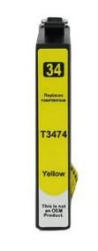Epson T3474 XL Y (geel) compatibel