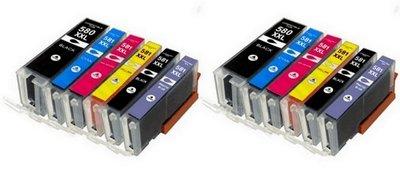 Canon 580-581 XXL voordeelpakket (2 complete sets, 12 cartridges)
